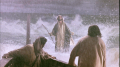 View Jesus walks on the water  (John 6:16-22)