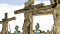 View Crucifixion and resurrection of Jesus (Mark 15-16)